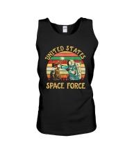 PILOT GIFT - VINTAGE SPACE FORCE Unisex Tank thumbnail