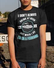 PONTOON PARTY - I'M ON A POONTANG Classic T-Shirt apparel-classic-tshirt-lifestyle-29