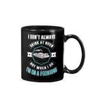 PONTOON PARTY - I'M ON A POONTANG Mug thumbnail