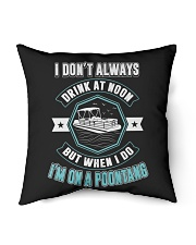 """PONTOON PARTY - I'M ON A POONTANG Indoor Pillow - 16"""" x 16"""" thumbnail"""