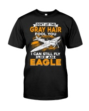 PILOT GIFTS - GRAY HAIR Classic T-Shirt front