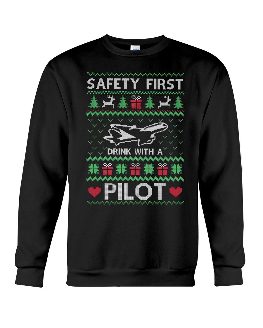 PILOT GIFT - SAFETY FIRST Crewneck Sweatshirt
