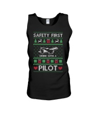 PILOT GIFT - SAFETY FIRST Unisex Tank thumbnail