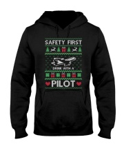 PILOT GIFT - SAFETY FIRST Hooded Sweatshirt thumbnail