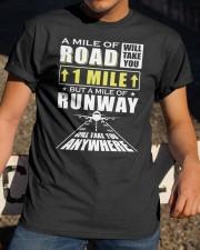 PILOT GIFT - RUNAWAY Classic T-Shirt apparel-classic-tshirt-lifestyle-28
