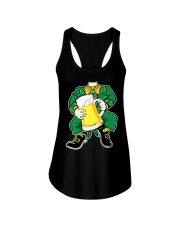 CRAFT BEER AND BREWING  - ST PATRICK'S DAY BEER Ladies Flowy Tank thumbnail