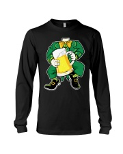 CRAFT BEER AND BREWING  - ST PATRICK'S DAY BEER Long Sleeve Tee thumbnail