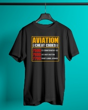 AVIATION RELATED GIFT - CHEAT CODE Classic T-Shirt lifestyle-mens-crewneck-front-3