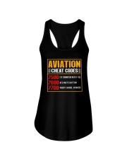 AVIATION RELATED GIFT - CHEAT CODE Ladies Flowy Tank thumbnail