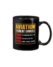 AVIATION RELATED GIFT - CHEAT CODE Mug thumbnail