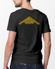 PILOT GIFT - B2 BOMBER Classic T-Shirt lifestyle-mens-crewneck-back-5