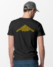 PILOT GIFT - B2 BOMBER Classic T-Shirt lifestyle-mens-crewneck-back-6