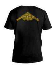 PILOT GIFT - B2 BOMBER V-Neck T-Shirt thumbnail