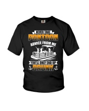 PONTOON BOAT GIFT - END UP DRUNK Youth T-Shirt thumbnail