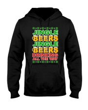 DRINKING ALL THE WAY Hooded Sweatshirt tile
