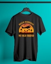 PILOT GIFT - HELLO DARKNESS MY OLD FRIEND Classic T-Shirt lifestyle-mens-crewneck-front-3