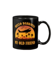 PILOT GIFT - HELLO DARKNESS MY OLD FRIEND Mug thumbnail