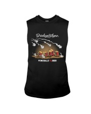 OLD FASHIONED DRINK BEER PONG Sleeveless Tee thumbnail