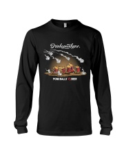 OLD FASHIONED DRINK BEER PONG Long Sleeve Tee thumbnail