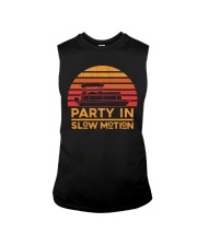 PONTOON PARTY - PARTY IN SLOW MOTION Sleeveless Tee thumbnail