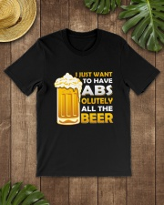 BREWERY MERCHANDISE - BEER ABS Classic T-Shirt lifestyle-mens-crewneck-front-18