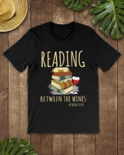READING BETWEEN THE WINES Classic T-Shirt lifestyle-mens-crewneck-front-18