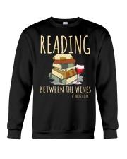 READING BETWEEN THE WINES Crewneck Sweatshirt thumbnail