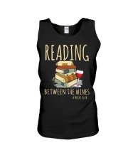 READING BETWEEN THE WINES Unisex Tank thumbnail