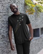 PILOT GIFT - CESSNA LINE Classic T-Shirt apparel-classic-tshirt-lifestyle-front-33