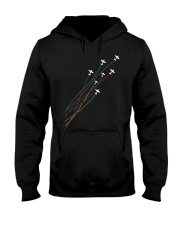 PILOT GIFT - CESSNA LINE Hooded Sweatshirt thumbnail