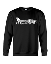 AIRPLANE GIFTS  - GROWING UP EVOLUTION  Crewneck Sweatshirt thumbnail