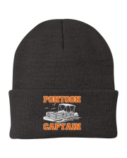 PONTOON BOAT GIFT - PONTOON CAPTAIN  Knit Beanie tile