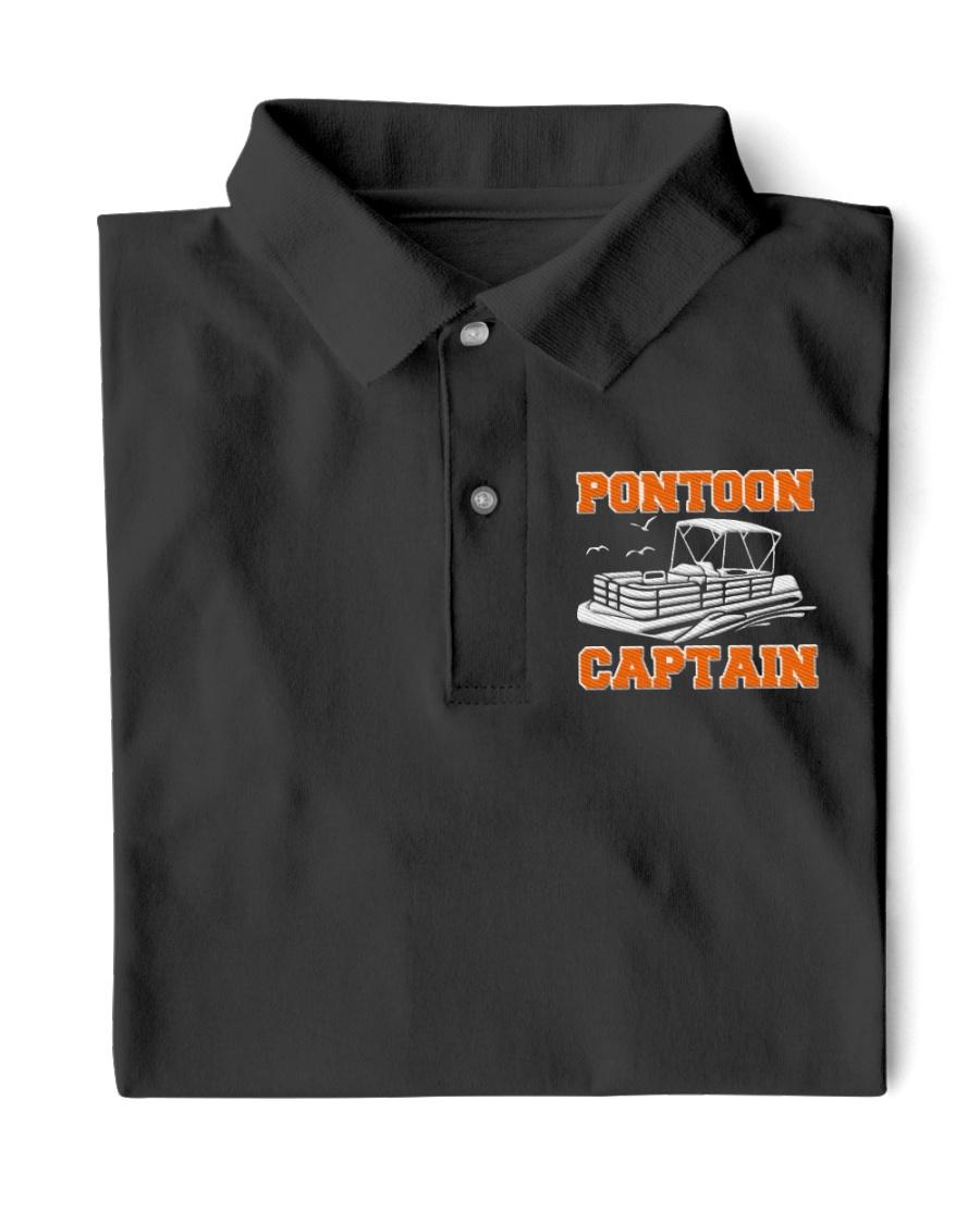 PONTOON BOAT GIFT - PONTOON CAPTAIN  Classic Polo