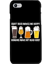 CRAFT BEER LOVER - MAKES ME HAPPY Phone Case thumbnail