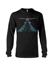 PILOT GIFT - SEAPLANE ALPHABET Long Sleeve Tee tile