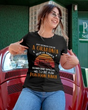 PONTOON BOAT GIFT FOR MOTHER'S DAY - PONTOON NANA Ladies T-Shirt apparel-ladies-t-shirt-lifestyle-01