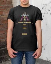 PILOT - LANDING LIGHT Classic T-Shirt apparel-classic-tshirt-lifestyle-31