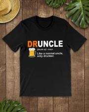 CRAFT BEER LOVER - DRUNCLE Classic T-Shirt lifestyle-mens-crewneck-front-18