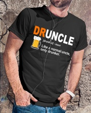 CRAFT BEER LOVER - DRUNCLE Classic T-Shirt lifestyle-mens-crewneck-front-4