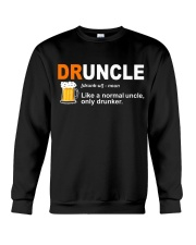 CRAFT BEER LOVER - DRUNCLE Crewneck Sweatshirt thumbnail