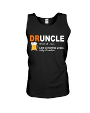 CRAFT BEER LOVER - DRUNCLE Unisex Tank tile