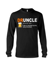 CRAFT BEER LOVER - DRUNCLE Long Sleeve Tee thumbnail
