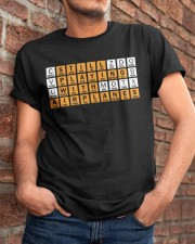 AVIATION ALPHABET - AVIATION WORD SEARCH Classic T-Shirt apparel-classic-tshirt-lifestyle-26