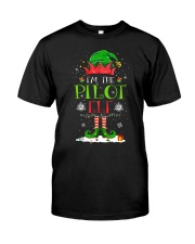 AVIATION PILOT GIFT - CHRISTMAS ELF Classic T-Shirt front