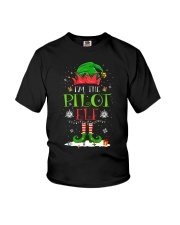 AVIATION PILOT GIFT - CHRISTMAS ELF Youth T-Shirt thumbnail