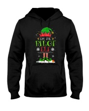 AVIATION PILOT GIFT - CHRISTMAS ELF Hooded Sweatshirt thumbnail
