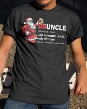 CRAFT BEER BREWERY- CHRISTMAS DRUNCLE Classic T-Shirt apparel-classic-tshirt-lifestyle-28