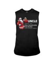 CRAFT BEER BREWERY- CHRISTMAS DRUNCLE Sleeveless Tee thumbnail