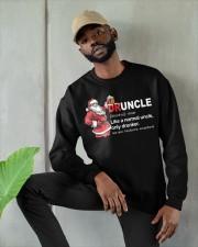 CRAFT BEER BREWERY- CHRISTMAS DRUNCLE Crewneck Sweatshirt apparel-crewneck-sweatshirt-lifestyle-front-08