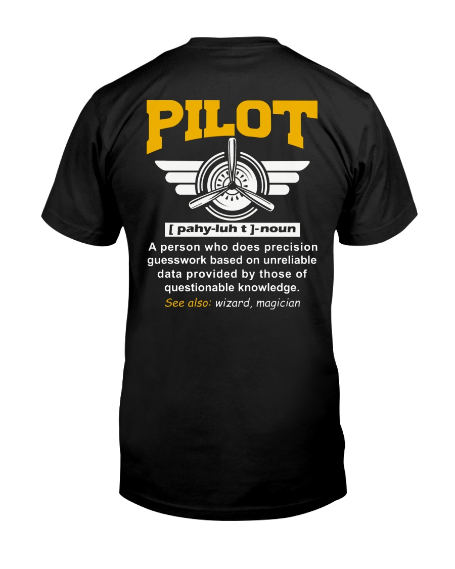 PILOT GIFTS  - DEFINITION OF PILOT Classic T-Shirt